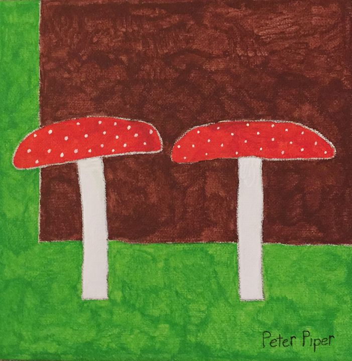 Toadstools - Peter Piper