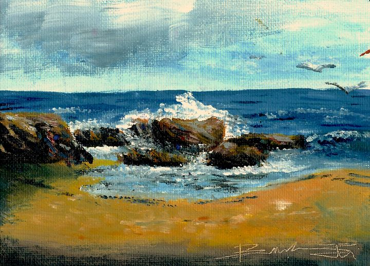 California Coast - B's Fine Arts