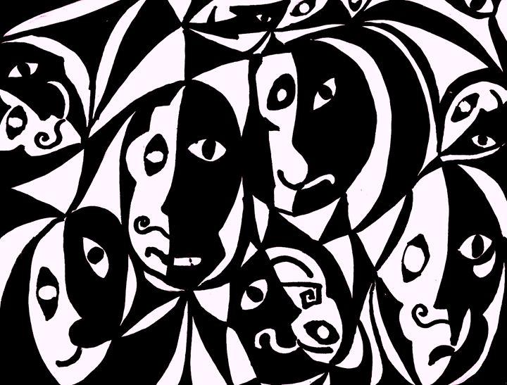 Faces - B's Fine Arts