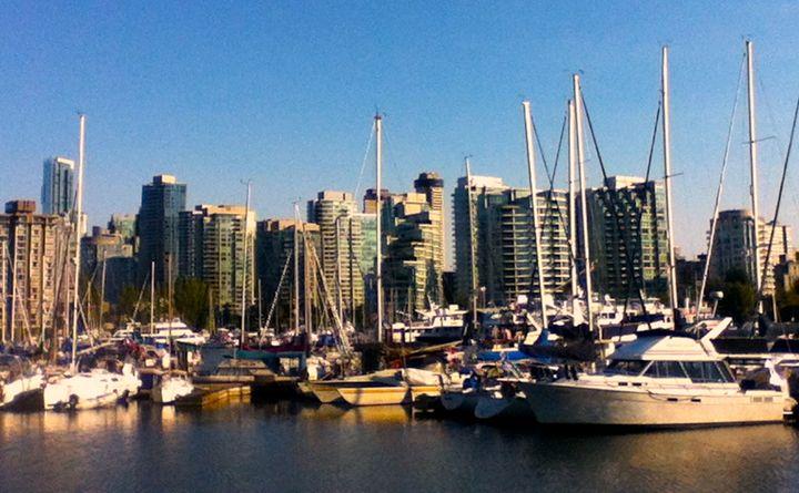 Boats At Vancouver Harbor - B's Fine Arts