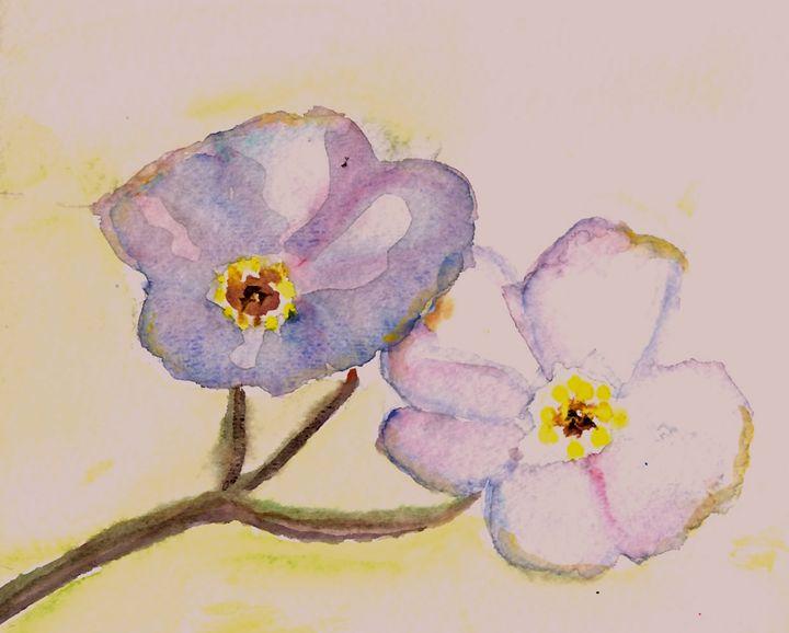 Minimalist Flowers - B's Fine Arts