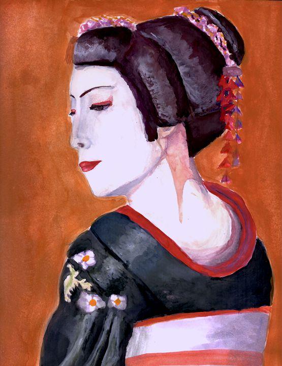 The Geisha - B's Fine Arts