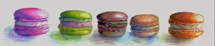 Macarons - B's Fine Arts