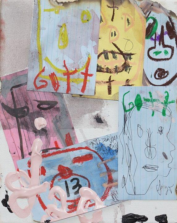 'Untitled Countenance' - Dori - DORI JONETZ-KNUDE