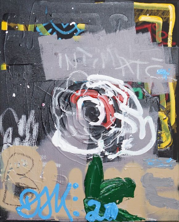 'Flower at Villa Senseless' - Dori - DORI JONETZ-KNUDE