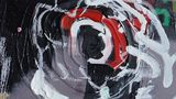 Acrylic, Canvas, Oil Stick