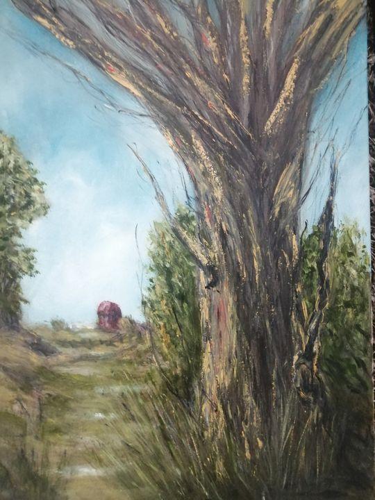 The Big Tree - C. Murphy Artwork