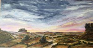 Stormy Night Descending - C. Murphy Artwork