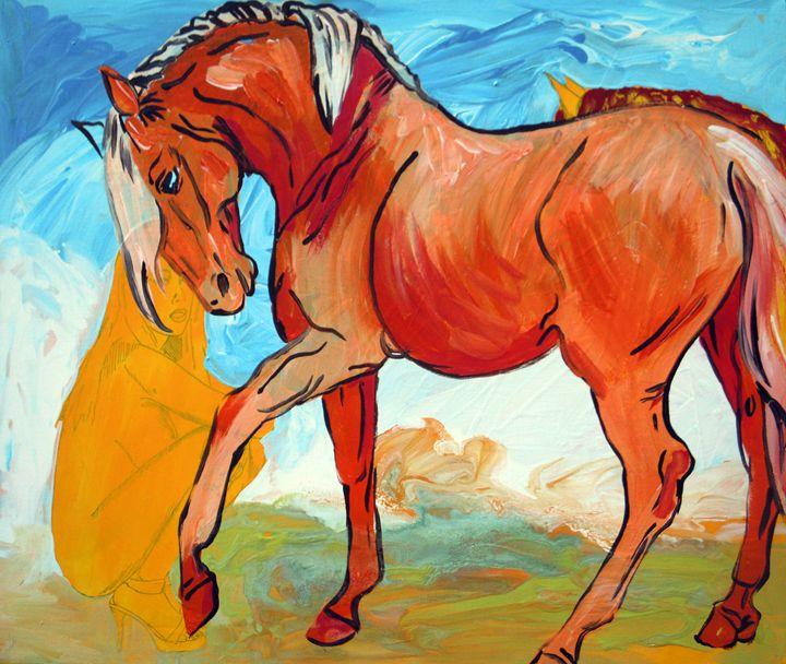 The Orange Horse - Juhan Rodrik
