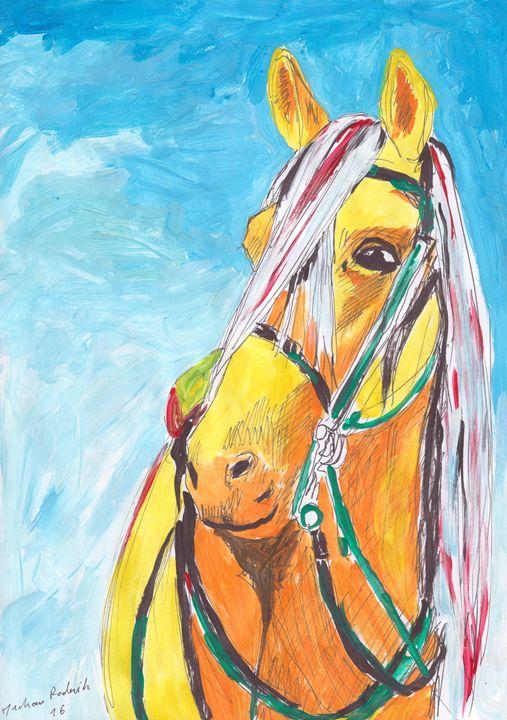 A Yellow Horse - Juhan Rodrik