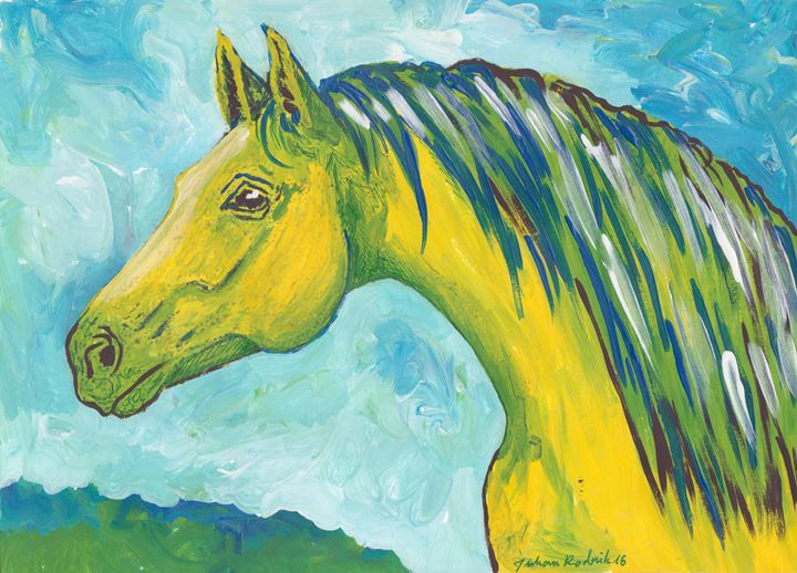 Green Horse - Juhan Rodrik