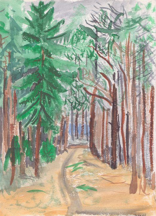 Track In The Wilderness - Juhan Rodrik