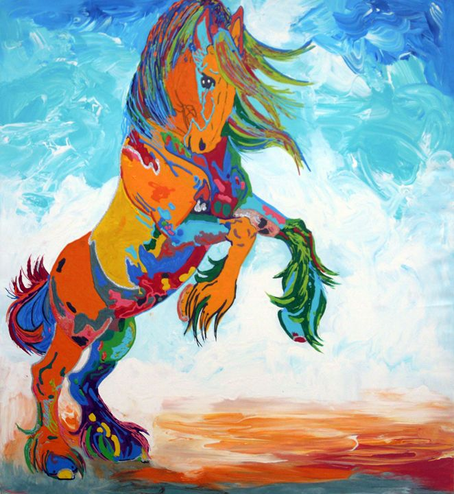 The Colorful Horse - Juhan Rodrik