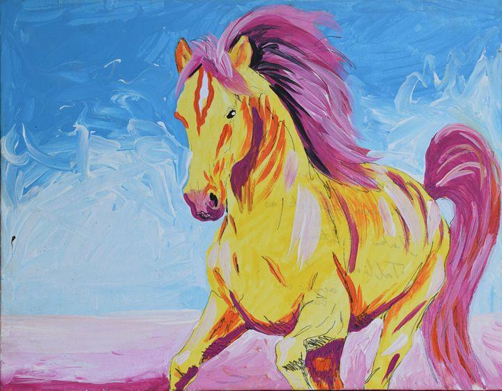 The Yellow Horse - Juhan Rodrik