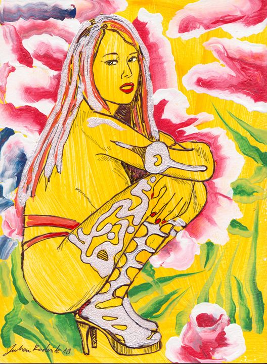 Flower Girl - Juhan Rodrik