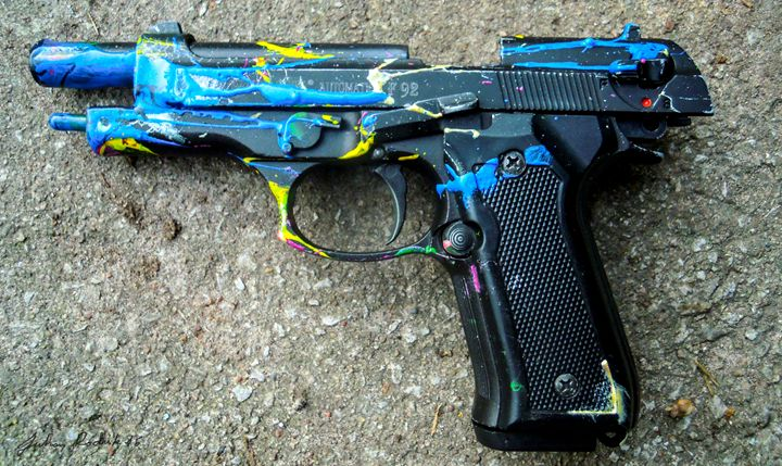 Paint Gun - Juhan Rodrik