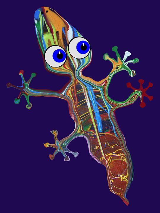 Gecko On The Wall - Juhan Rodrik