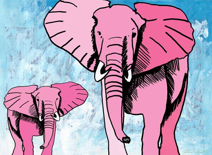 Pink Elephants - Juhan Rodrik