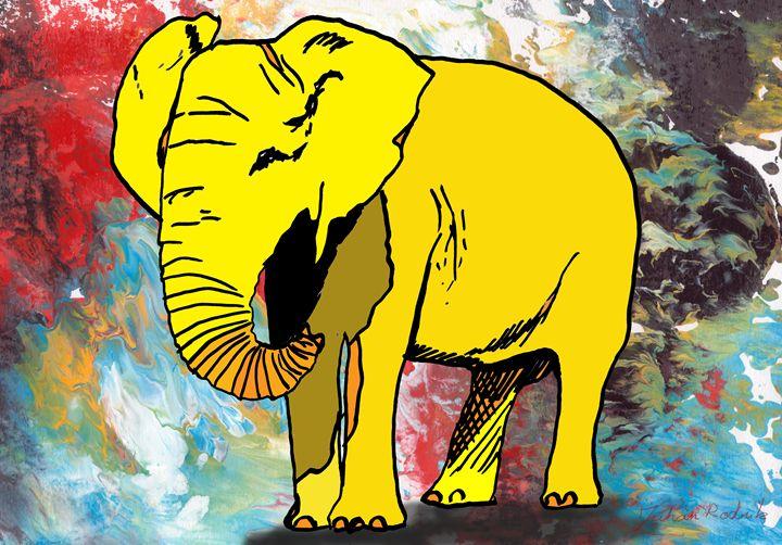 Yellow Elephant - Juhan Rodrik