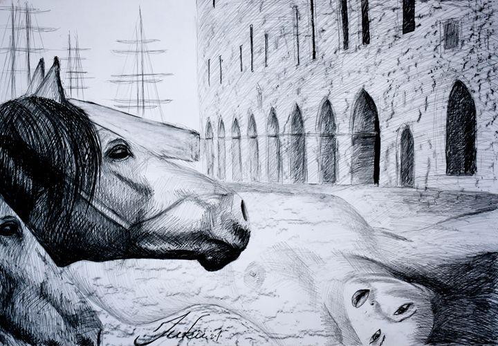 HorseIn The Town - Juhan Rodrik