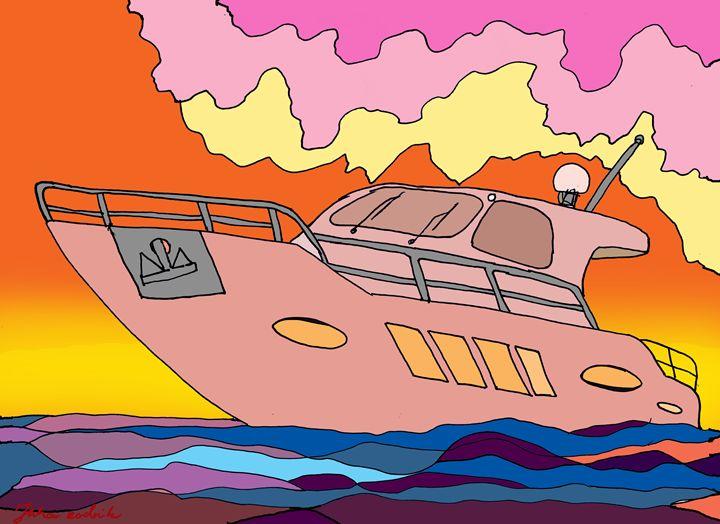 Sunset Boating - Juhan Rodrik