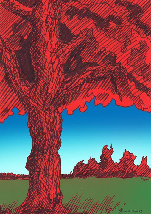 The Red Tree - Juhan Rodrik