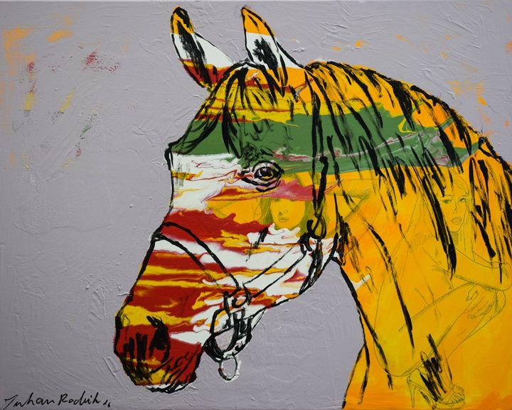 Horse Portrait - Juhan Rodrik