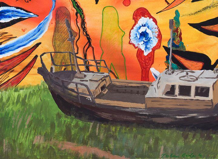 Sunset at The Boat Yard - Juhan Rodrik
