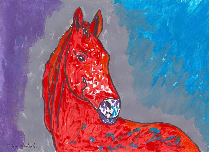Red White Horse - Juhan Rodrik