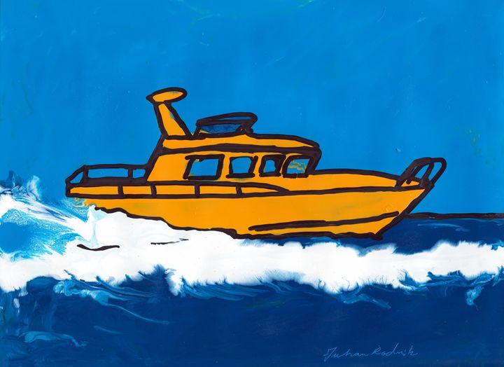 Sunny Boating - Juhan Rodrik