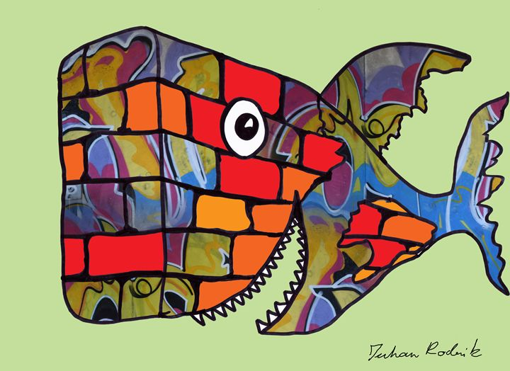 Wall Fish - Juhan Rodrik
