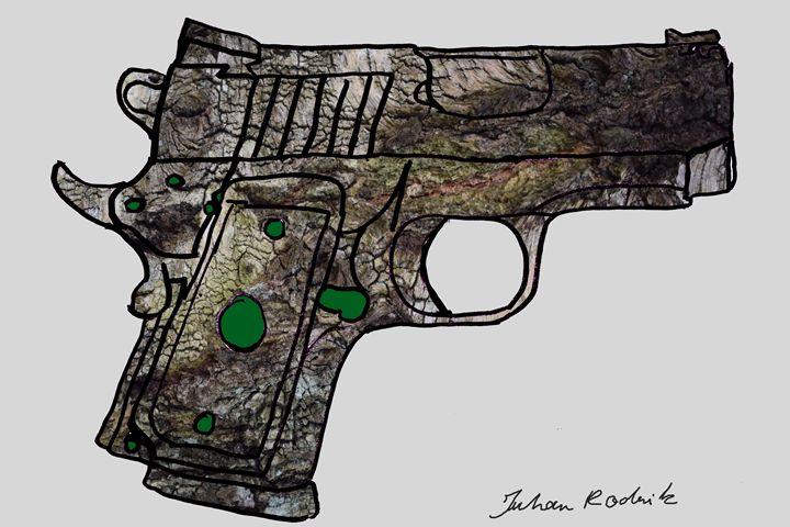 Tree Bark Gun - Juhan Rodrik