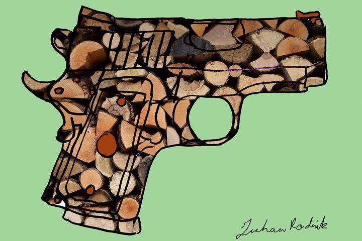 Firewood Pistol - Juhan Rodrik