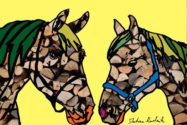 Firewood Horses - Juhan Rodrik