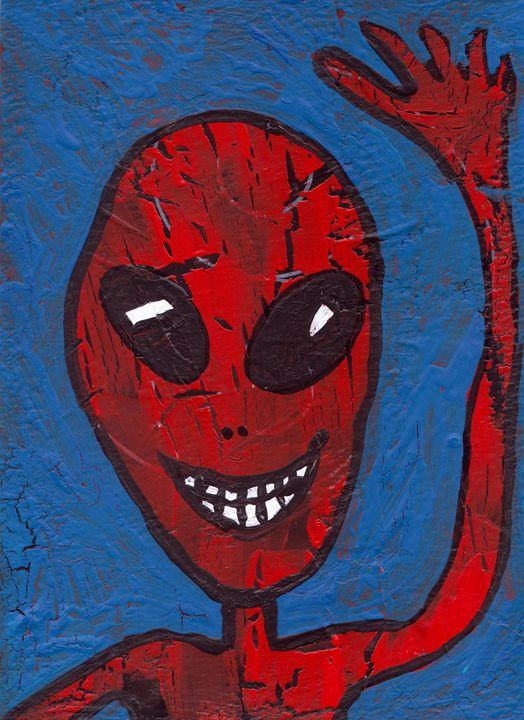 Red Alien - Juhan Rodrik