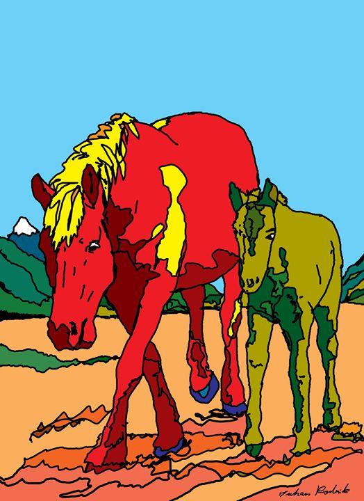 Horse Family - Juhan Rodrik