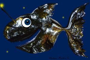 Deep sea smiling  Fish