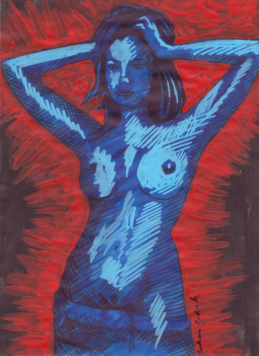 Blue in Red - Juhan Rodrik