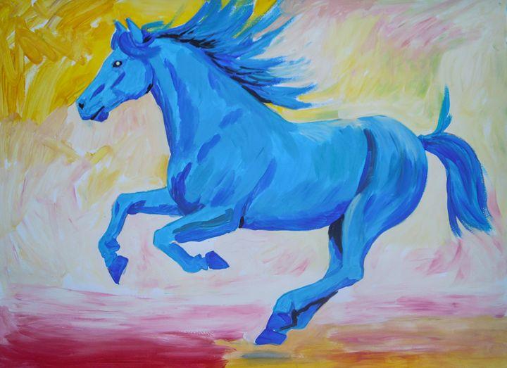 The Blue Horse - Juhan Rodrik