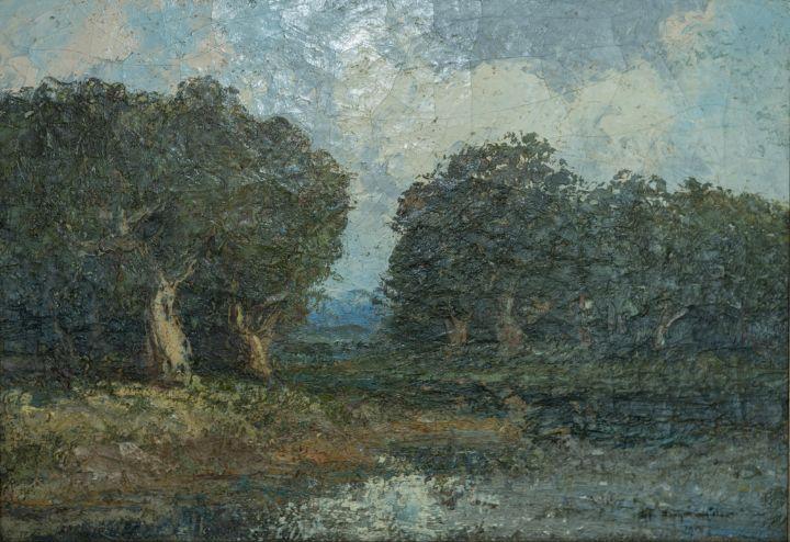 Tree Field - Marla's Gallery