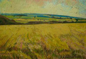 Blue Horizon on the Fields