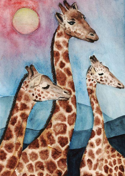 Giraffes - MishaCreates