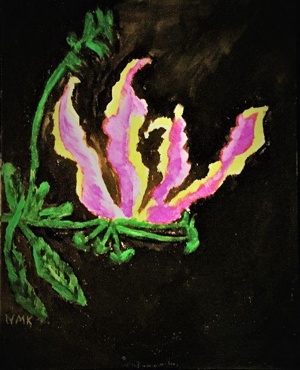 Glorious Gloriosa - www.word-art.co