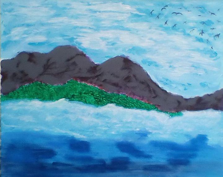 Blue Skies - www.word-art.co