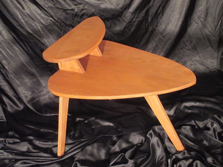 Midcentury modern end table - instinct-photography