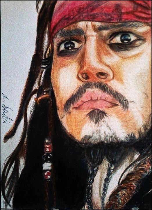 Capt. Jack Sparrow - C.Berdin