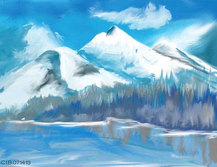 Snowy Mountain - C.Berdin