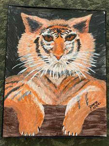 Stunning Siberian tiger - D & L Gallery