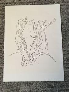 Nude by F. Sanchez
