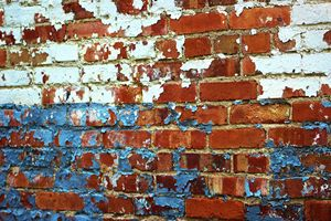 Paint Chips and Brick 2